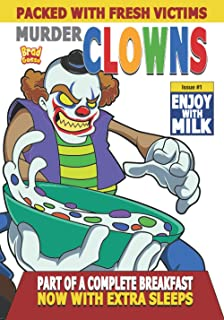 Murder Clowns: Cereal Box Cover Variant C