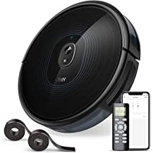 2200Pa Robot Vacuum, dser 23T Robotic Vacuum Cleaner, Wi-Fi Connected, 2 Boundary Strips, Scheduling, 4 Cleaning Modes for Hard Floor, Carpets and Pet Hair, Compatible with Alexa and Google Home