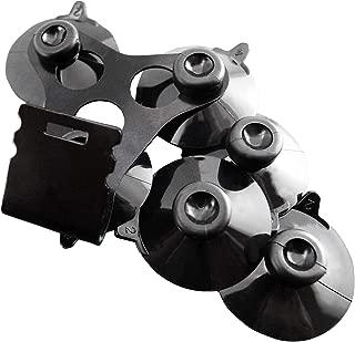 1 x Windshield Mount Bracket + 6 Black Cup for All The Cobra Radar Detector Models