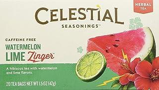 Celestial Seasonings Watermelon Lime Zinger Tea, 20 Tea Bags