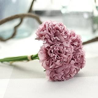 YJYdada Artificial Silk Fake Flowers Peony Floral Wedding Bouquet Bridal Hydrangea Decor (E)