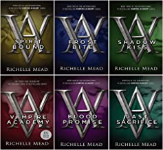 Vampire Academy Series Books 1 - 6 Collection Set by Richelle Mead (Vampire Academy, Frostbite, Shadow Kiss, Blood Promis...