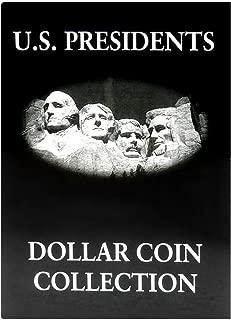 US Presidents Dollar Coin Collection Album