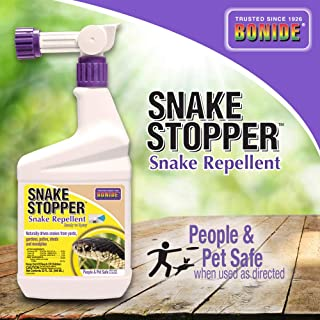 BONIDE PRODUCTS INC BONIDE Products 8752 Ready to Spray Snake Stopper, 32-Ounce, 32 oz, Brown/A