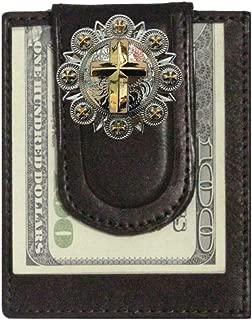 Custom Gold Cross Paul and Taylor Money Clip Wallet