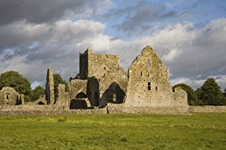 Hore Abbey, Cashel, County Tipperary, Ireland; Abbey Ruins In Field Poster Print (17 x 11)
