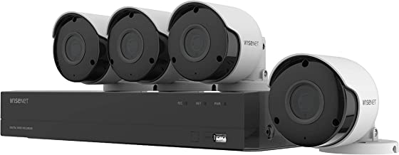 Wisenet SDH-B84045BF 8 Channel Super HD DVR Video...