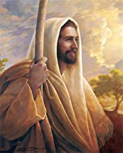 lihuaiart Canvas Wall Art Home Wall Decorations for Bedroom Living Room Oil Paintings Canvas Prints jesus christ lds greg olsen 16x20inch
