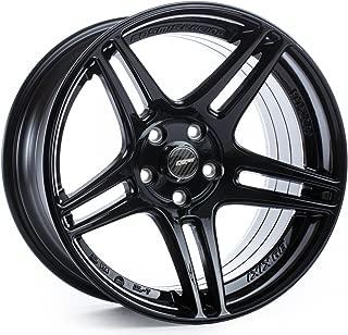 COSMIS RACING S5R BLACK 18X9 +26MM 5X114.3 WHEEL SET