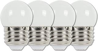 Westinghouse Lighting 4511220 7-1/2-Watt Equivalent S11 White LED Light Bulb with Medium Base (4 Pack)