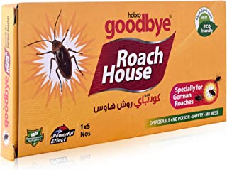 Habro Googbye Roach House Cockroach Trap - 5 Pieces