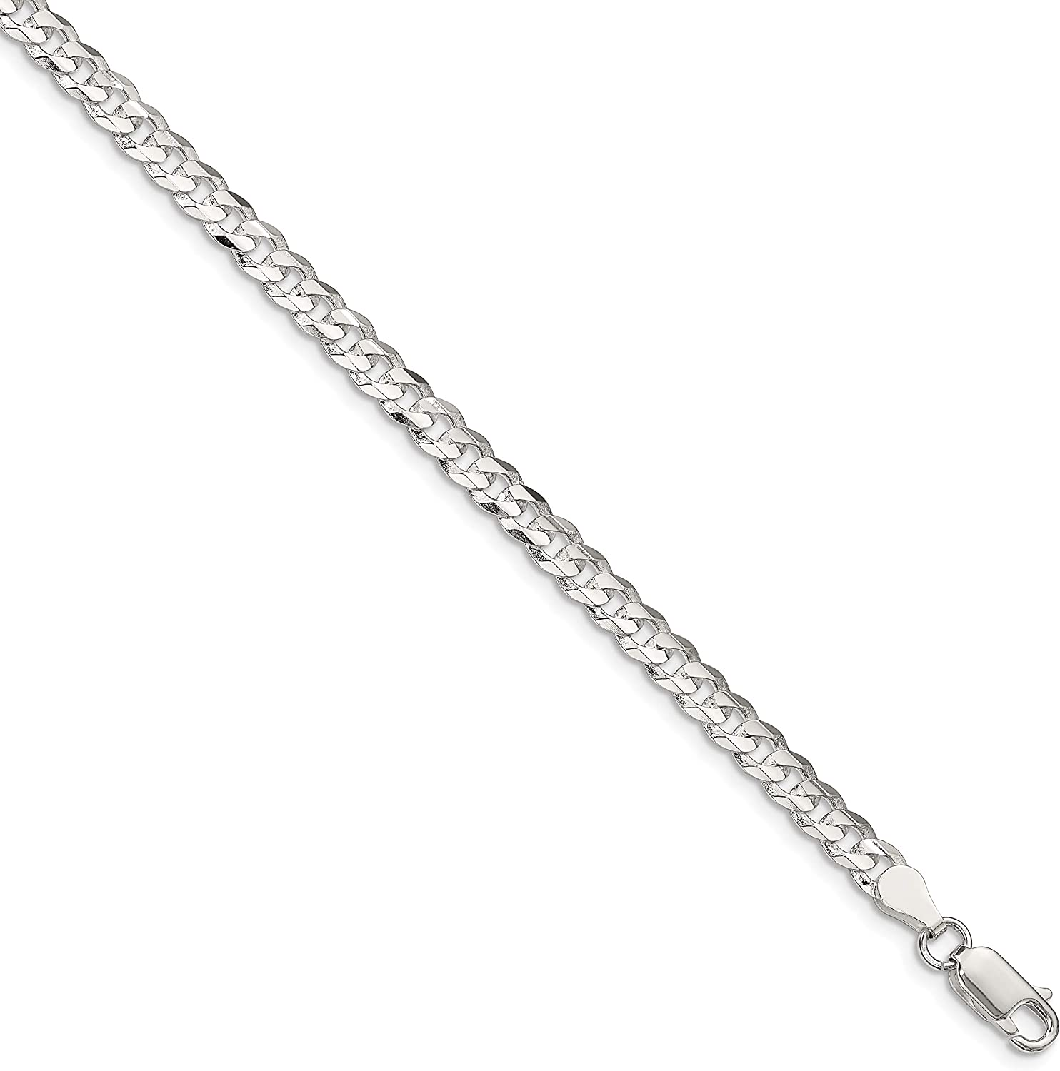 Ryan Jonathan Fine Jewelry Sterling Manufacturer regenerated Max 48% OFF product Silver 4.5mm Concave Beveled