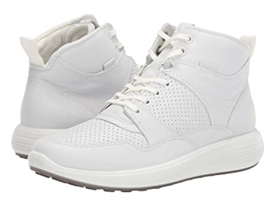 ECCO Soft 7 Runner Ankle Boot (White) Women