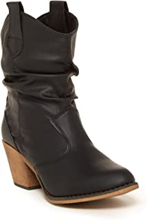 Best black western ankle boots Reviews