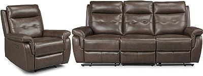 Amazon.com: Benzara BM190817 Adjustable Backrest Sofa with ...