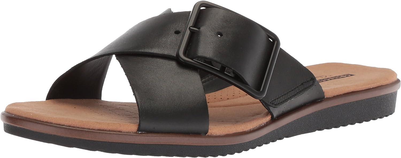 Clarks Women's Kele Heather Flat Sandals