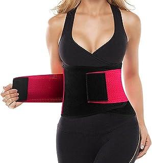 Waist Trainer Belt for Women & Man - Waist Cincher Trimmer Weight Loss Ab Belt - Slimming Body Shaper Belt