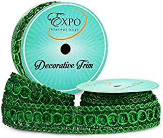6939 Olive Green D/ÉCOPRO 10 Yard Value Pack of Large Beige Champagne Baroque Collection 7//16 inch Decorative Cord Without Lip Style# 716BNL Color: Winter Meadow 30 Ft // 9 Meters