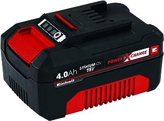 Einhell Power X-Change - Batería de repuesto (18 V, 4,0 Ah, tiempo de carga de 60 minutos) (ref. 4511396)