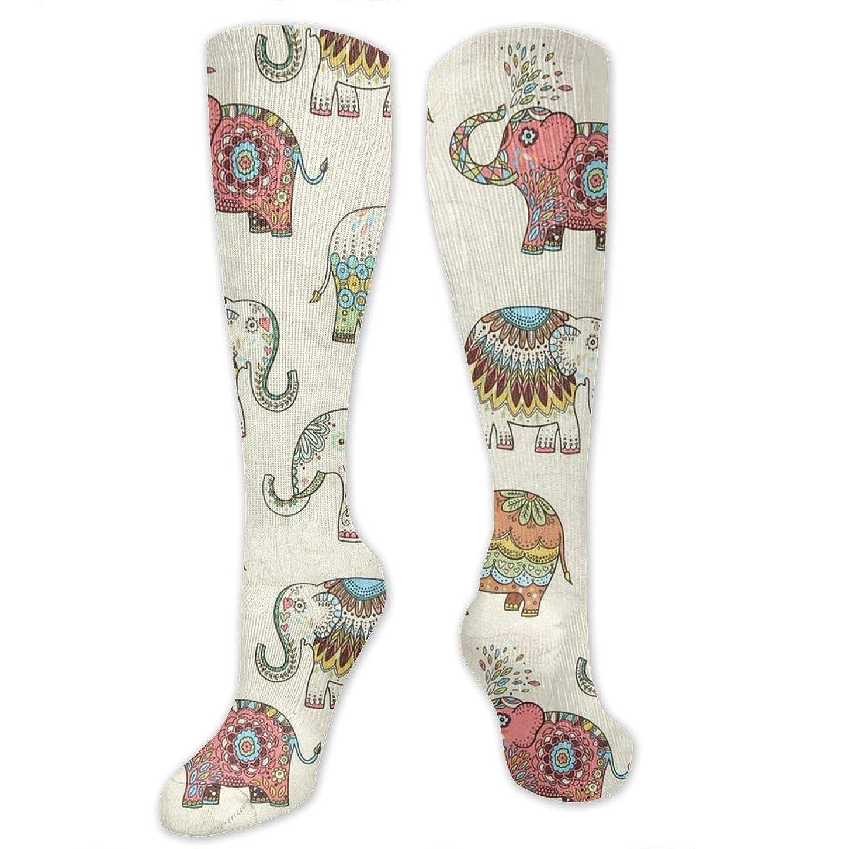 ゴミ狭いハンカチ3 D抗菌アスレチックソックス圧縮靴下クルーソックスロングスポーツ膝ハイソックス少年少女キッズ幼児用