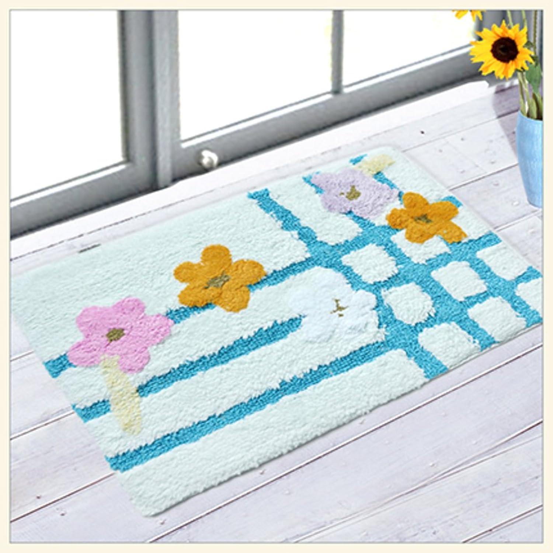 Cotton mats doormat Absorbent Water suede Hand wash pads-G 60x120cm(24x47inch)