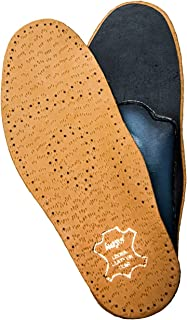 Orthotic Leather Insoles for Kids with Flat Feet, Shock Absorbing Arch Support, Relax Kids (30 EUR / 12 UK Kids)