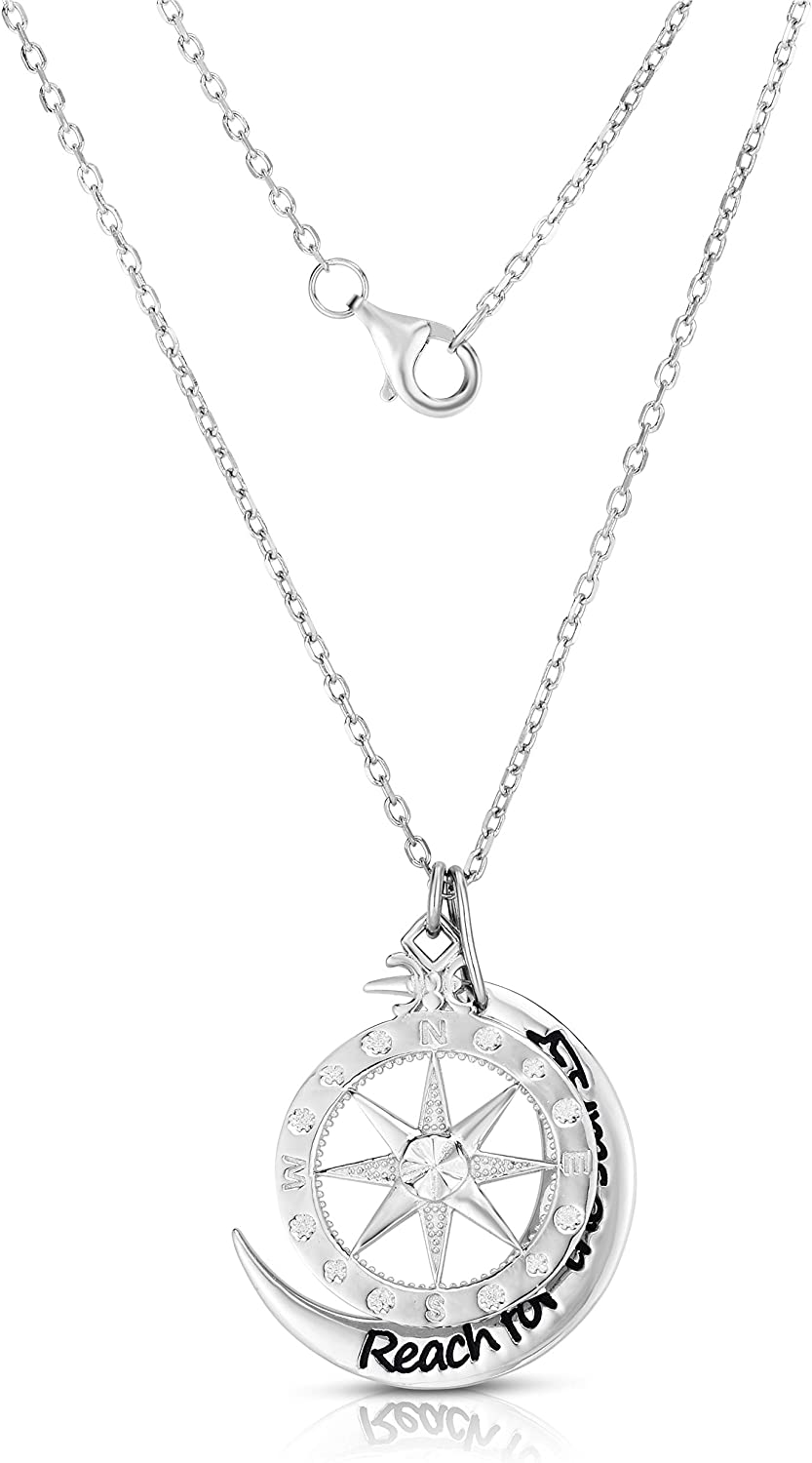 Unique Royal Jewelry 925 Sterling Silver Reach for The Stars Car