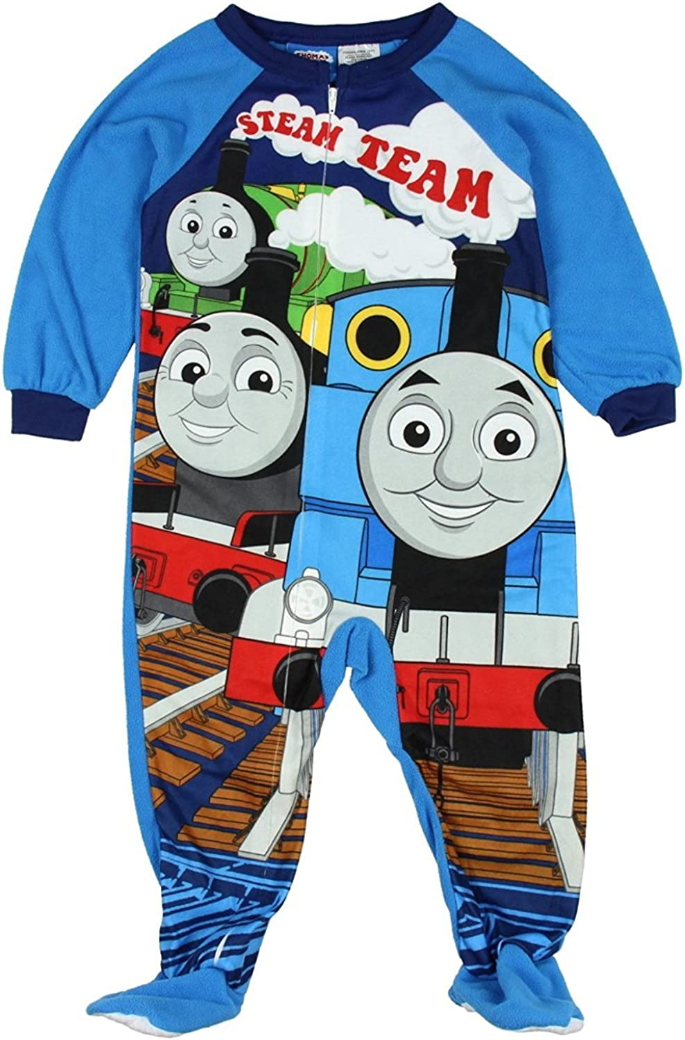 Character Boys Blanket Footed Sleeper Pajama Thomas Set Outlet ☆ Free Shipping Don't miss the campaign 4T The