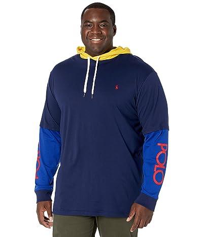 Polo Ralph Lauren Big & Tall Big Tall Logo Jersey Hooded T-Shirt