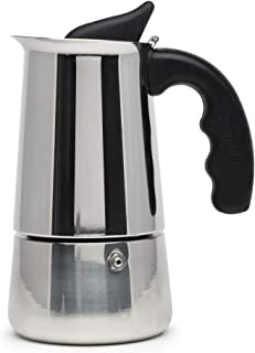Primula PES-4604 Stainless Steel Stovetop Espresso Coffee Maker, 4-Cup