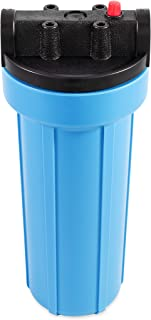Camco 52664 EVO Water Filter Canister and Cap, 10-Inch, With Pressure Relief - Replacement Part for EVO 40630 and 40631 - Compatible with 10-Inch Water Filter Cartridges