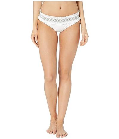 Tory Burch Swimwear Costa Hipster (New Ivory) Women