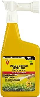 Victor M8002 Mole & Gopher Repellent Yard Spray – 1 Bottle, Yellow