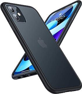 TORRAS Stoßfest Hülle für iPhone 11 Hülle Echter Militärischer Schutz Case Matt Anti-Kratzen Hard PC Back und Soft Silikon...