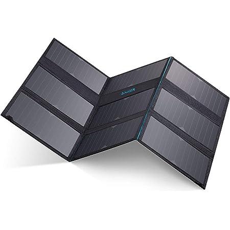 Anker PowerPort Solar 60 (60W 2ポート USBソーラーチャージャー)【高出力/折りたたみ式/PowerIQ搭載】iPhone 11 / 11 Pro / 11 Pro Max/XR / 8、Galaxy S10 / S10+ 各種対応