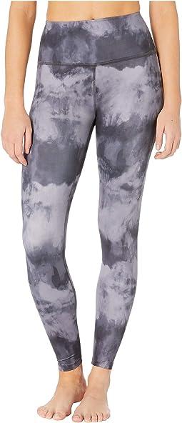 Beyond Yoga Womens Lux Half Moon Midi Leggings