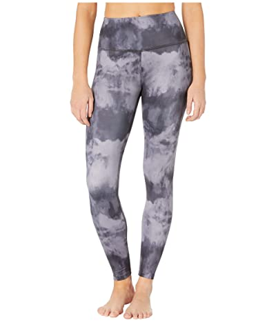Beyond Yoga Lux High Waisted Midi Leggings (Gray Smoke) Women