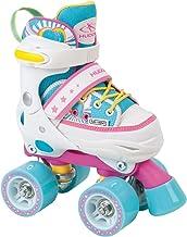 HUDORA Rollschuhe Kinder Mädchen Skate Wonders, verstellbar, Roller-Skates, Disco-Roller