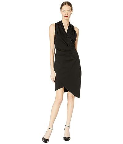 Nicole Miller Ponte Stefanie Dress (Black) Women