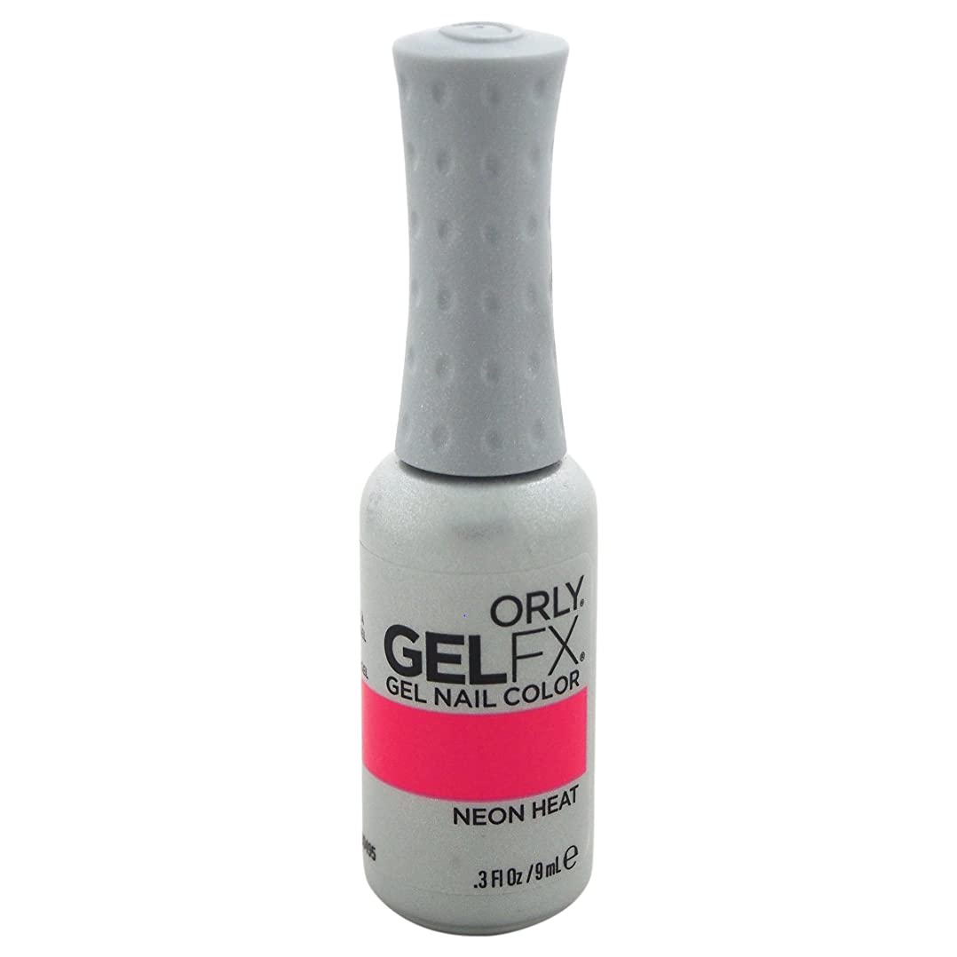 信じるカプラー硬いOrly GelFX Gel Polish - Neon Heat - 0.3oz/9ml