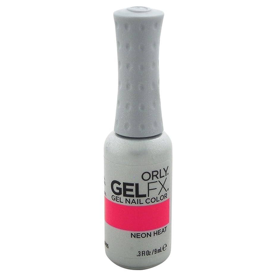 リングこどもの宮殿流星Orly GelFX Gel Polish - Neon Heat - 0.3oz/9ml