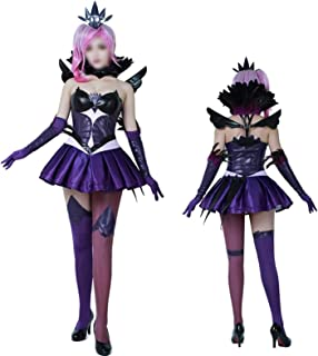 CHENJUNAMZ Partido del Traje de fantasía de Moda Pretend rol Elementalista Oscuro Lux Vestido Cosplay Traje de (Color : 1,...
