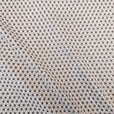 Werthers Stoffe Stoff Baumwollstoff Meterware weiß Taupe
