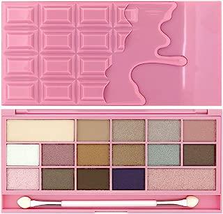 Makeup Revolution Chocolate Bar Eyeshadow Palette, Pink Fizz