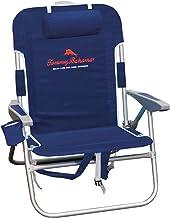 Tommy Bahama Big Boy Backpack Chair Blue Print