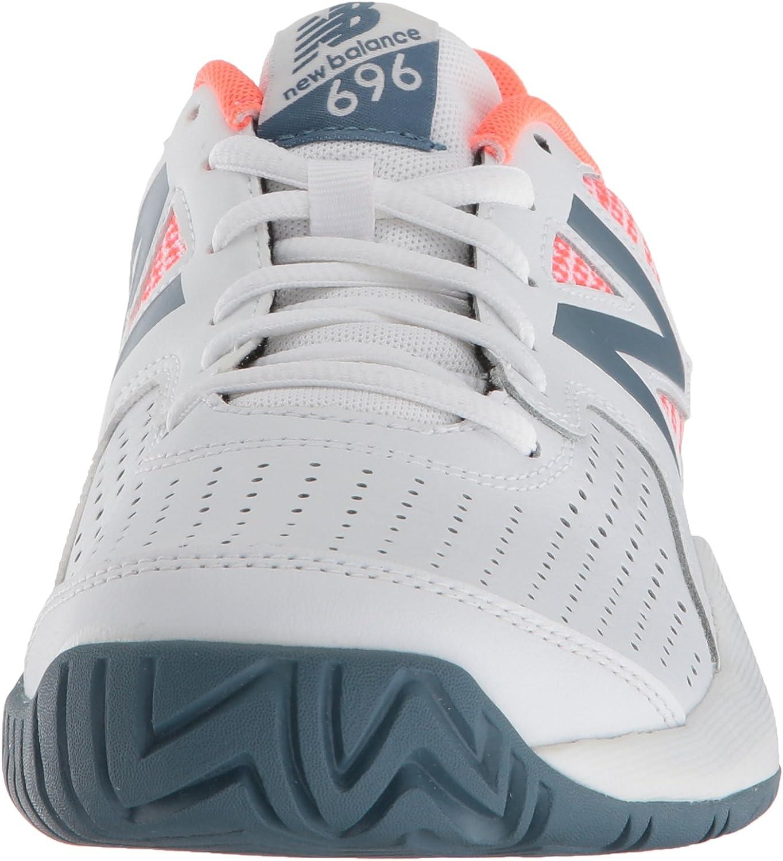 Amazon.com   New Balance Women's 696v3 Hard Court Tennis Shoe ...