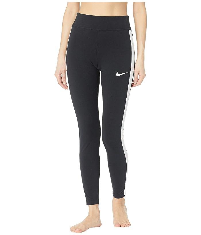 Nike Sportswear Hyper Femme Leggings Graphics (Black/White) Women