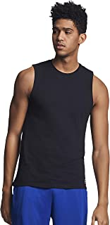 Men's Cotton Performance Sleeveless Muscle T-shirt
