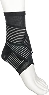 Active Ankle 329 Ankle Brace, Ankle Stabilizer Compression Sleeve with Straps, Braces for Volleyball, Football, Basketball, Rugby, Compression Sock for Protection & Sprain Support, Various Sizes