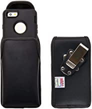 Turtleback Belt Case for iPhone 6s with Otterbox Defender Case Made to fit Otterbox Defender, Black Vertical Holster Leath...